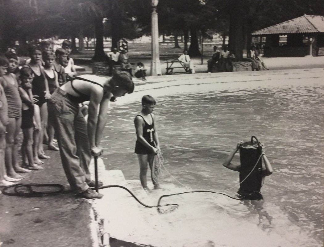 Brackenridge pool  | Drink up the history with The Barwalk, San Antonio TX