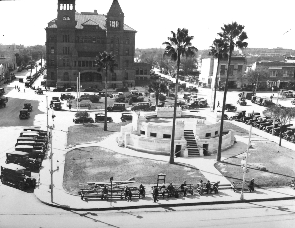 Main Plaza circa 1930  | Drink up the history with The Barwalk, San Antonio TX