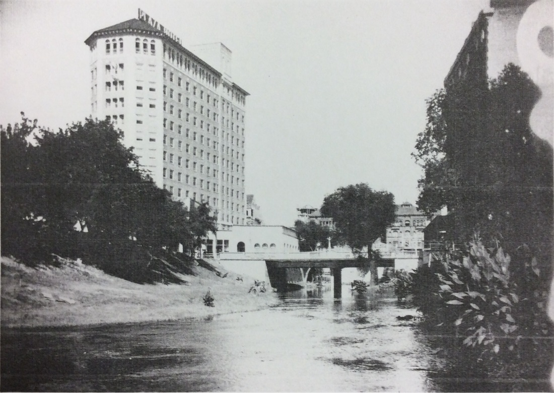 Pre-Riverwalk San Antonio River | Drink up the history with The Barwalk, San Antonio TX