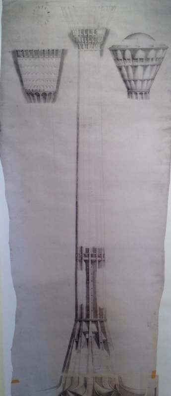 The Tower of the Americas planning sketch | Drink up the history with The Barwalk, San Antonio TX