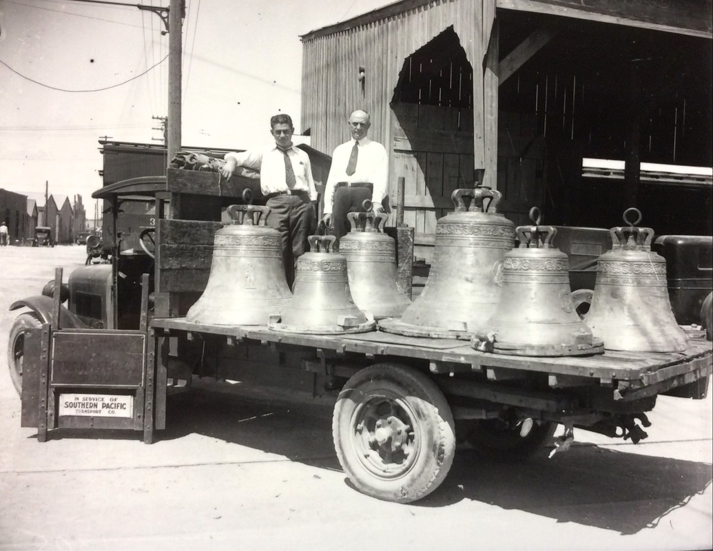 Custom-built bells for Shrine of the Little Flower, San Antonio TX | Drink up the history with The Barwalk, San Antonio TX