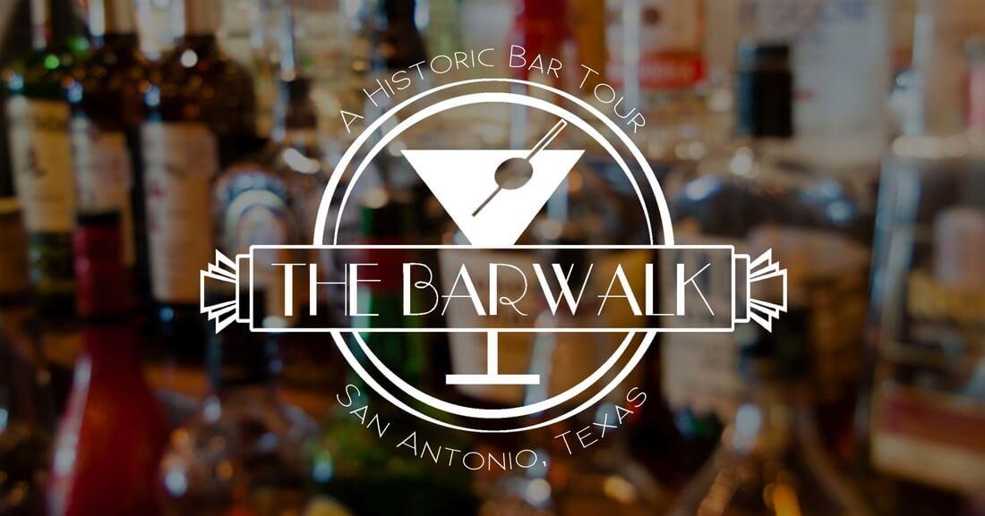 The Barwalk San Antonio Historic Bar Tour logo